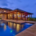 Expansive & Private Pool Deck for Sunbathing