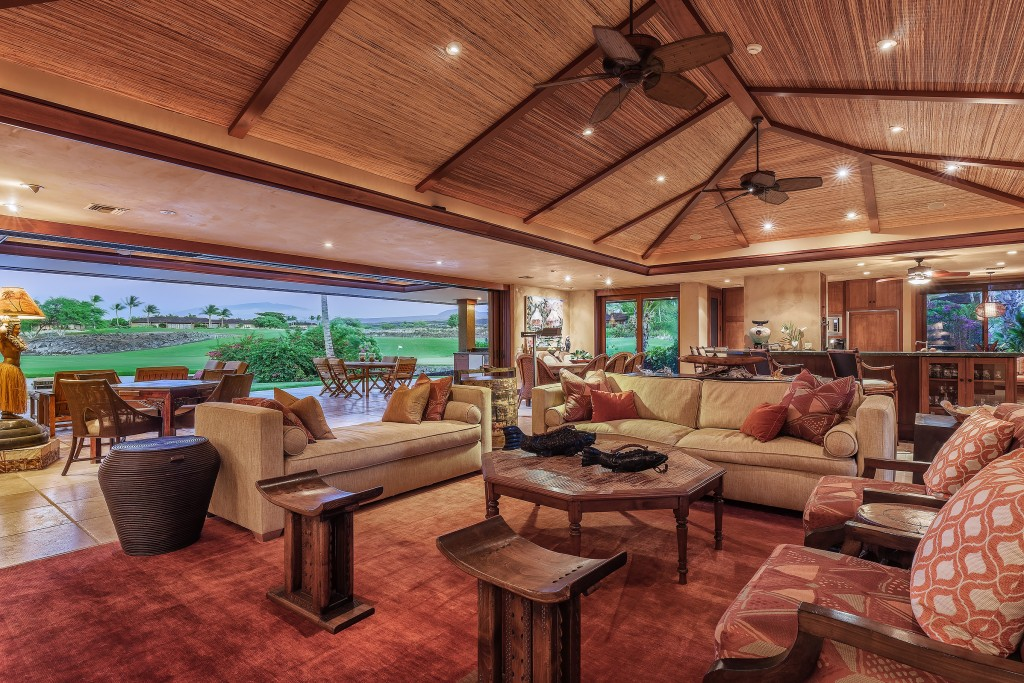 pacious Residence at Hualalai Four Seasons Resort Offered Furnished