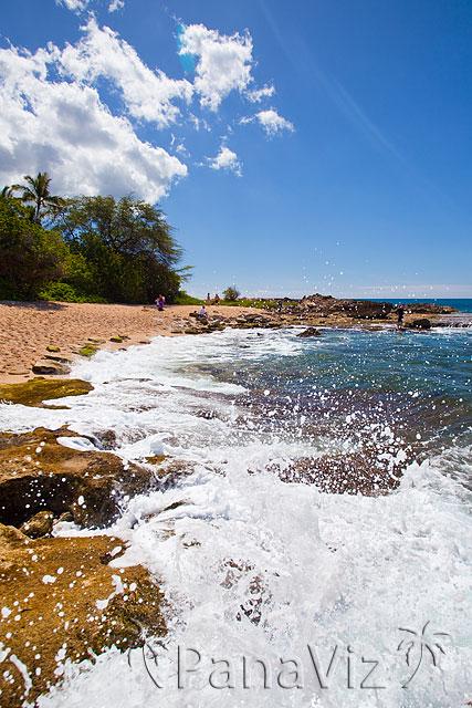 secret Beach at KoOlina